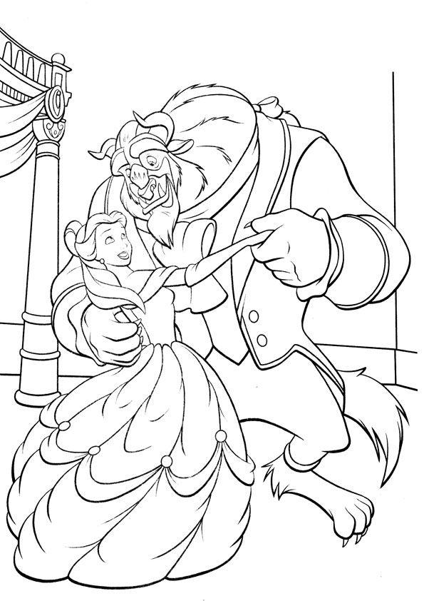 Dancing Belle & Beast