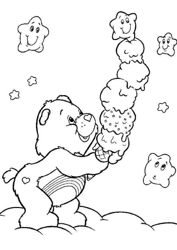 A Berenstain Bears flo coloring pages