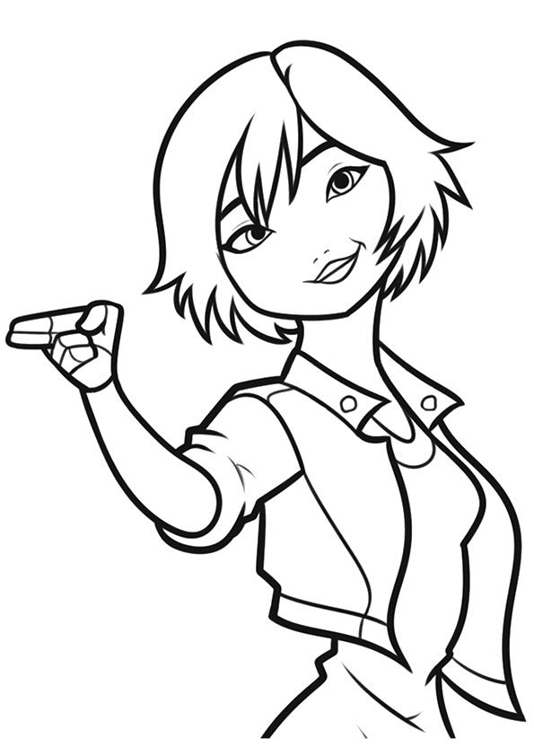 Go Go Tamago coloring pages