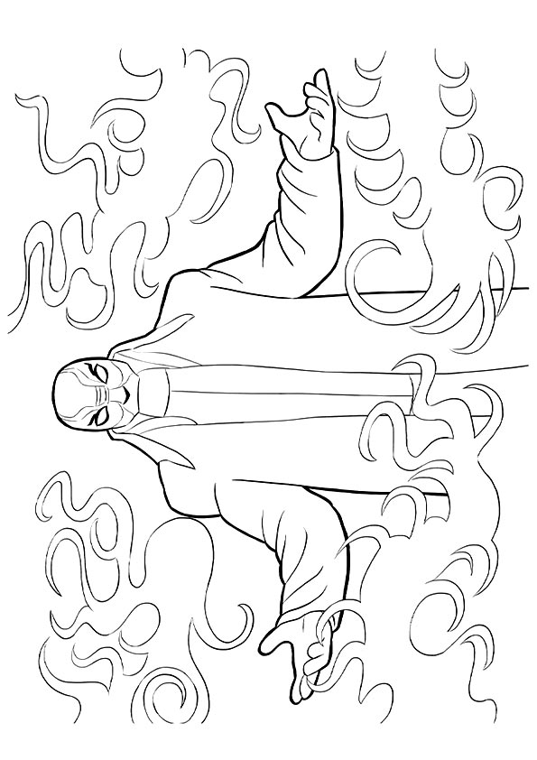 Yokai coloring pages