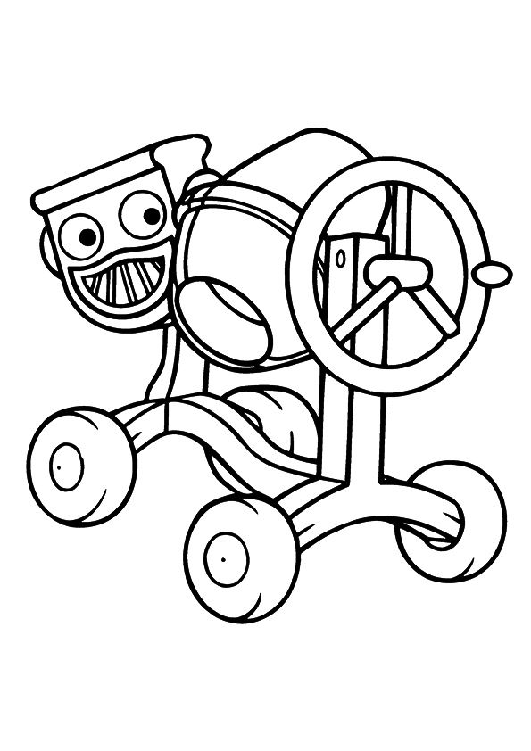 Free Printable Bob The Builder Coloring Pages Bob The