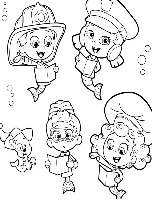 Bubble Guppies Study