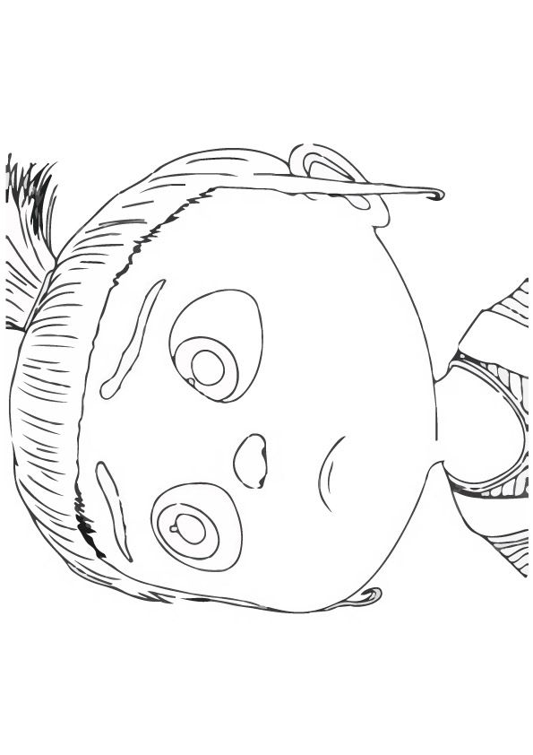Edith coloring pages