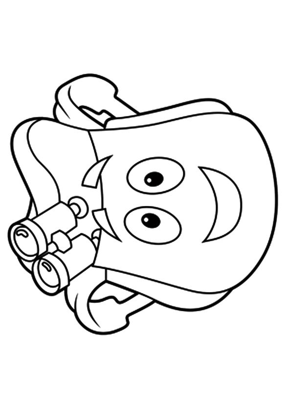 Rescue Pack coloring pages