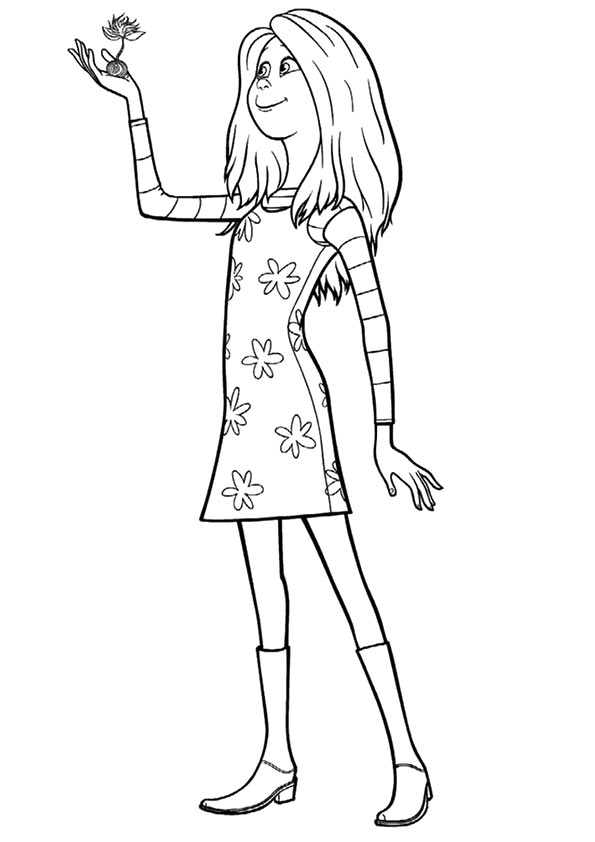 Audrey coloring pages