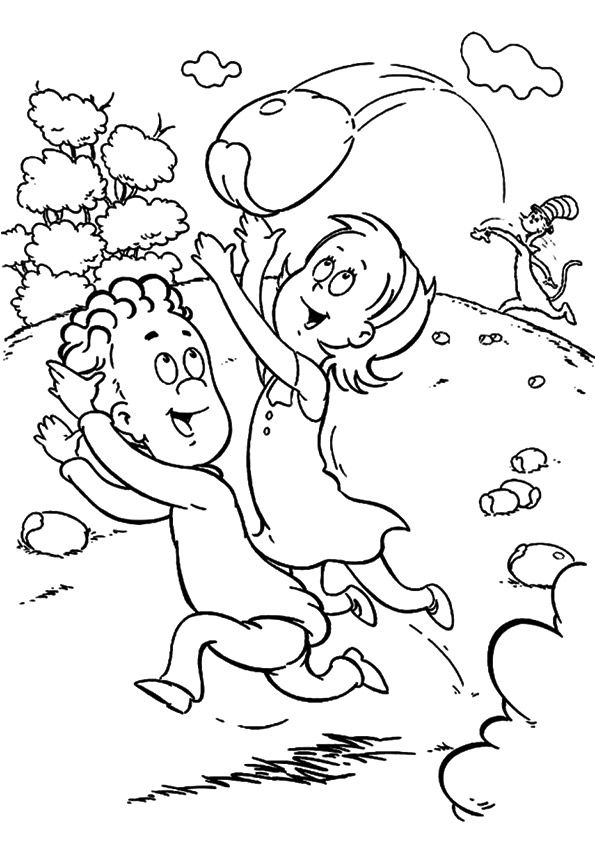 Sally coloring pages