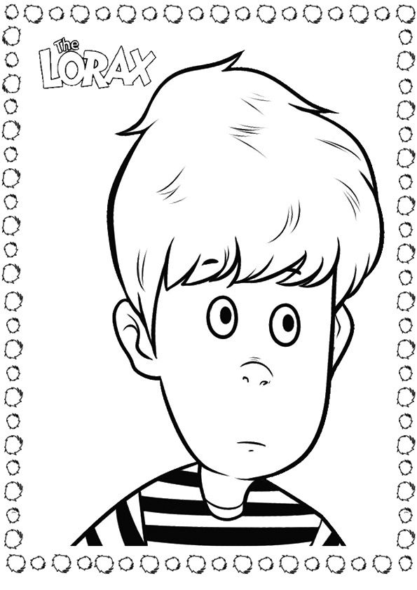 Ted Wiggins coloring pages