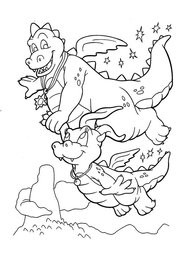 Dragon Tales Smocze coloring pages