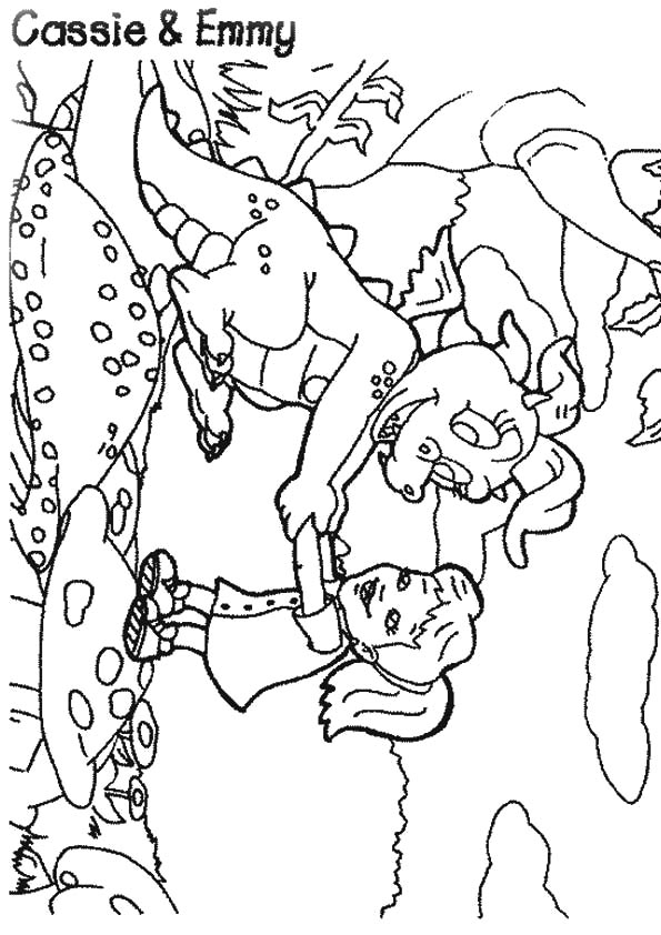 Dragon Tales Emmy coloring pages