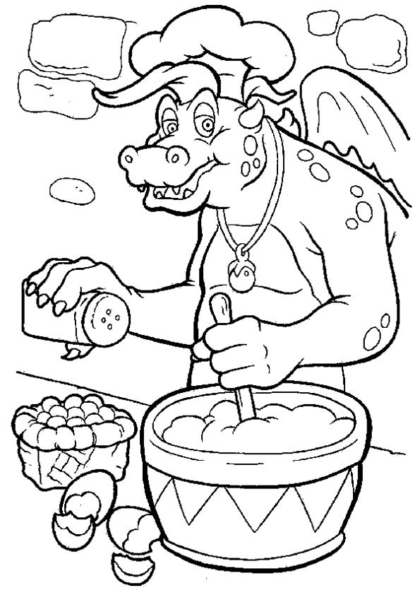 Dragon Tales Coloring tab coloring pages