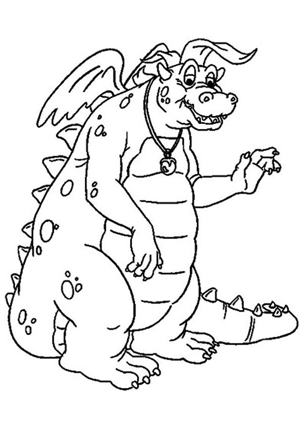Quetzal Wise Dragon coloring pages