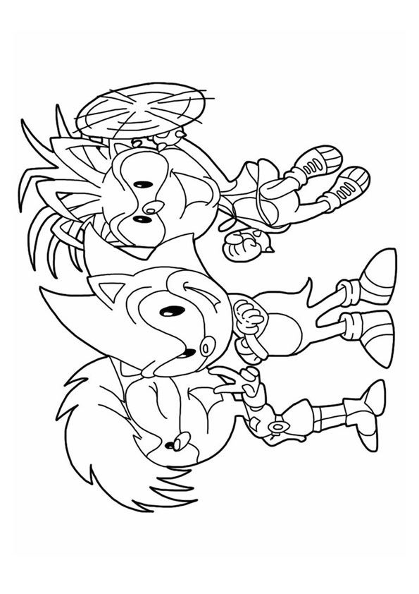The Gang coloring page