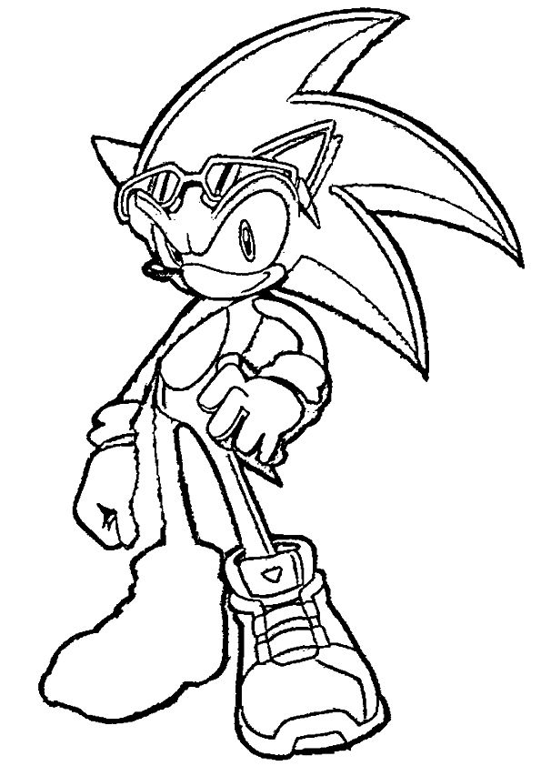 coloriages sonic 2 coloring pages
