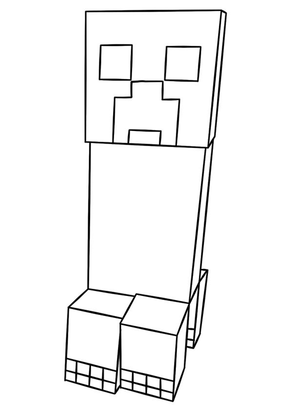 Minecraft Coloring Pages — Free Printable Coloring Pages at ... | 842x595