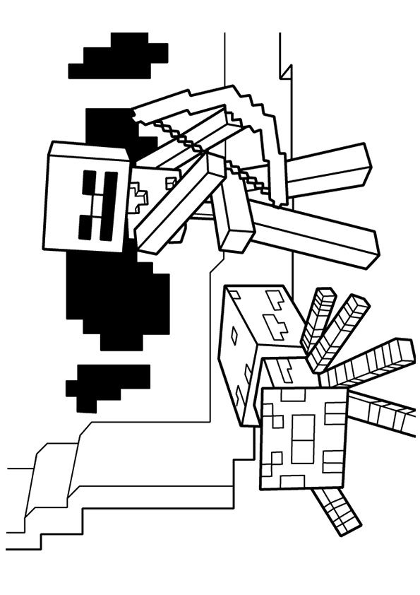 Parentune Free Printable Minecraft Coloring Pages Minecraft Coloring Pictures For Preschoolers Kids