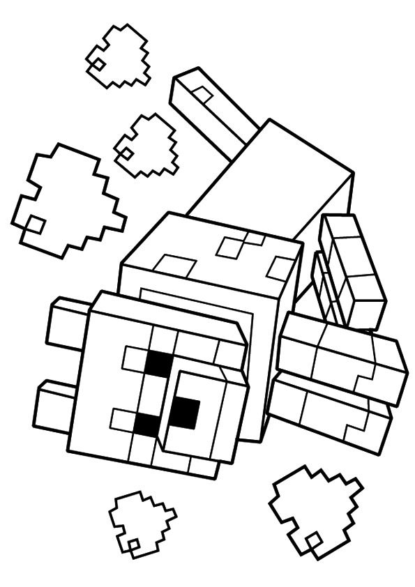 Minecraft Coloring eBook | Printable Minecraft Coloring Pages for ... | 842x595