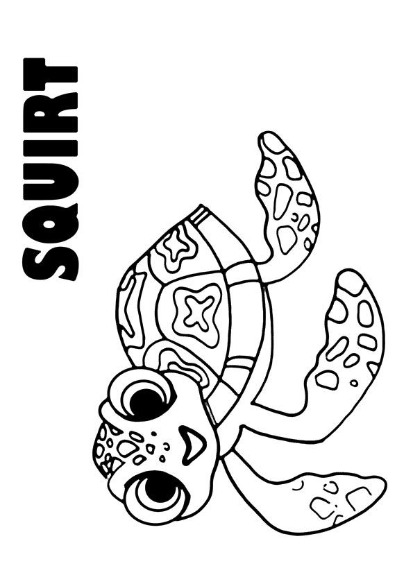 The Squirt coloring