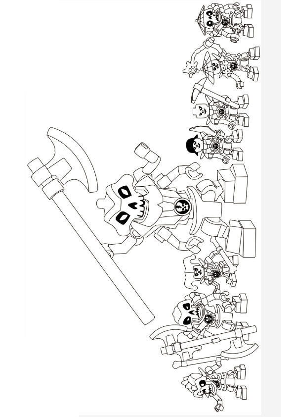 Free Lego Ninjago Coloring Pages coloring pages