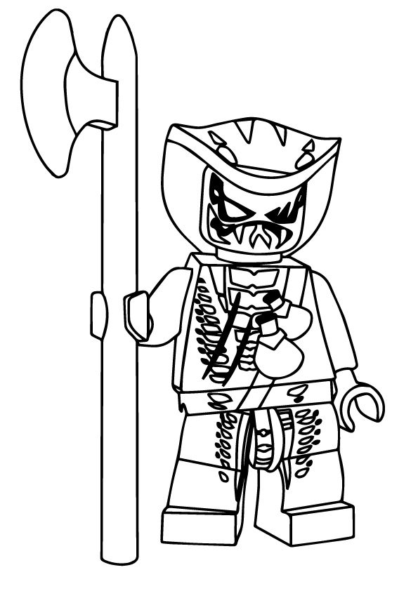 Lasha coloring pages