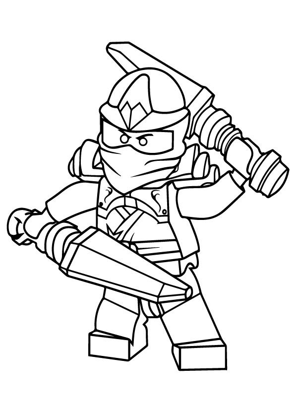 Free Printable Ninjago Coloring Pages Free Printable