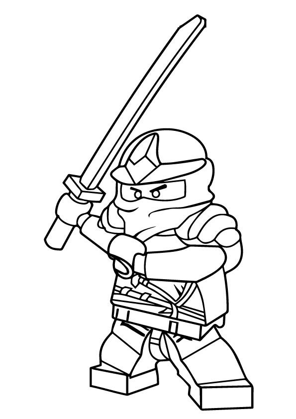 Ninjago Pictures to Color coloring pages