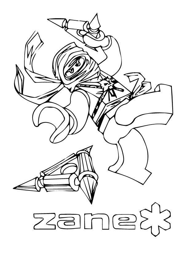 Zane of Ninjago