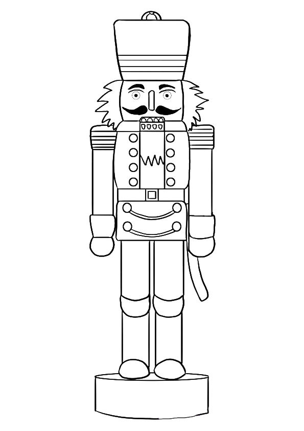 The ? n? for nutcracker coloring pages