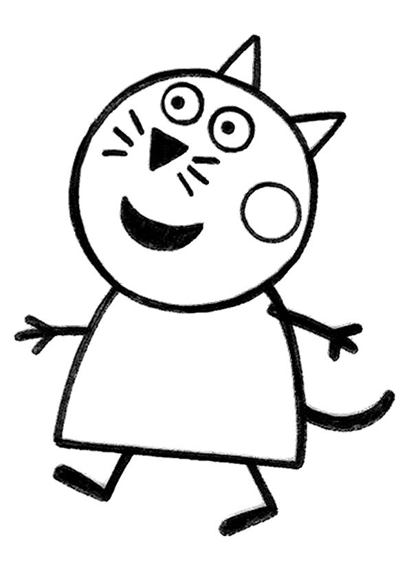 Peppa-pig coloring pages