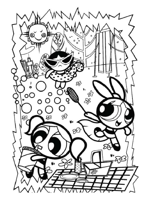 The Time to Party color coloring pages