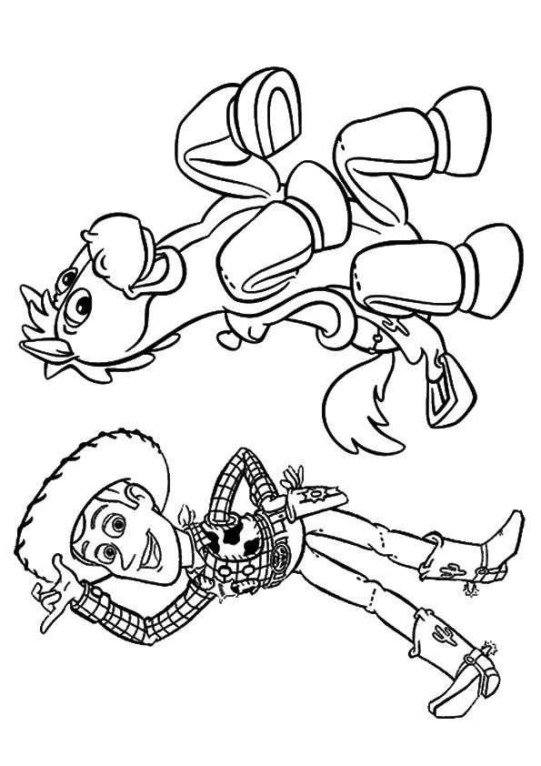 Random-cartoons coloring pages