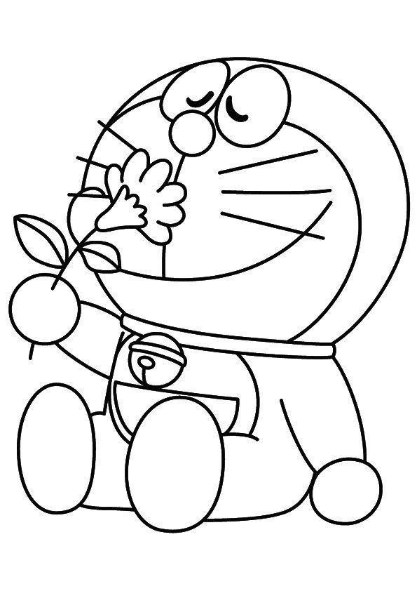 Doremon coloring pages