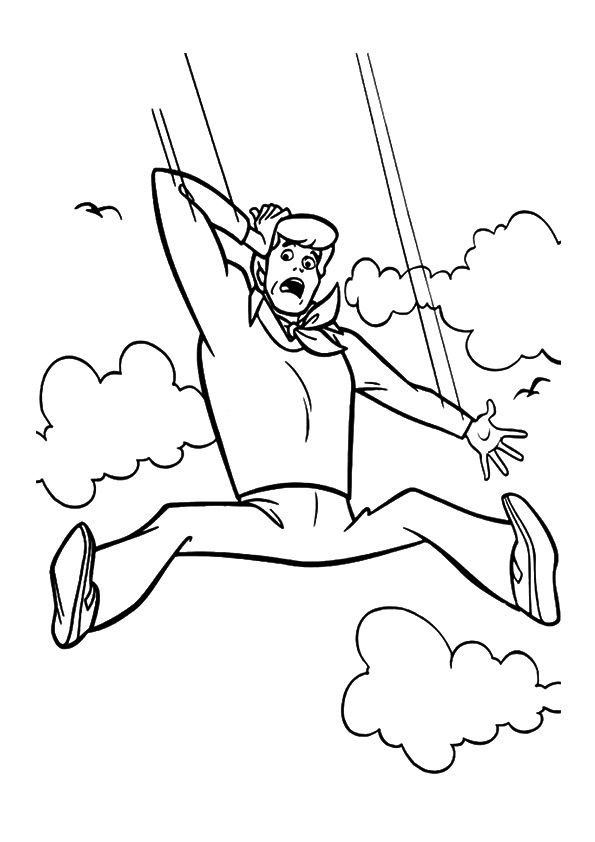 Fred Jones coloring pages