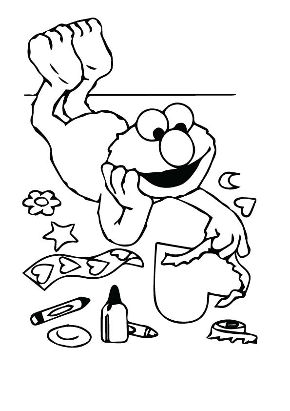 Sesame-street coloring pages