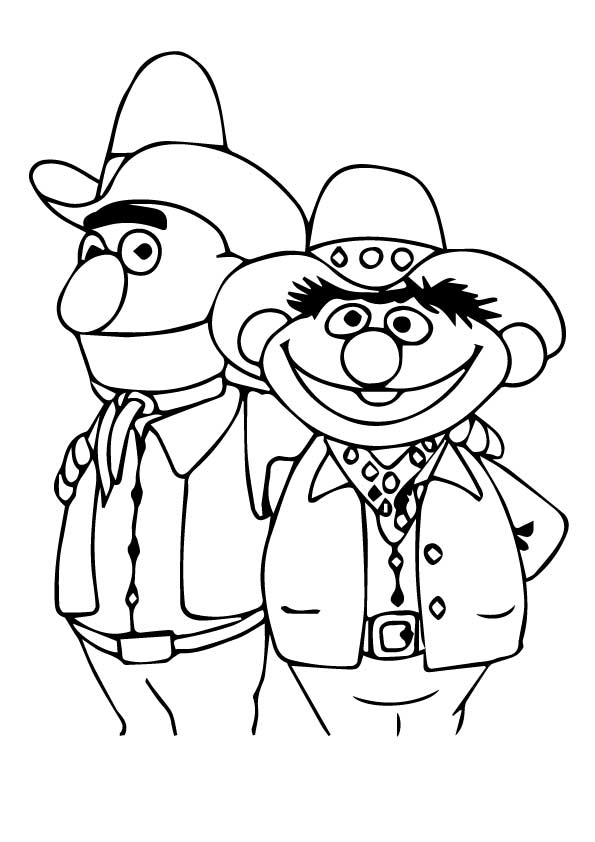 Sesame Street 1 coloring pages