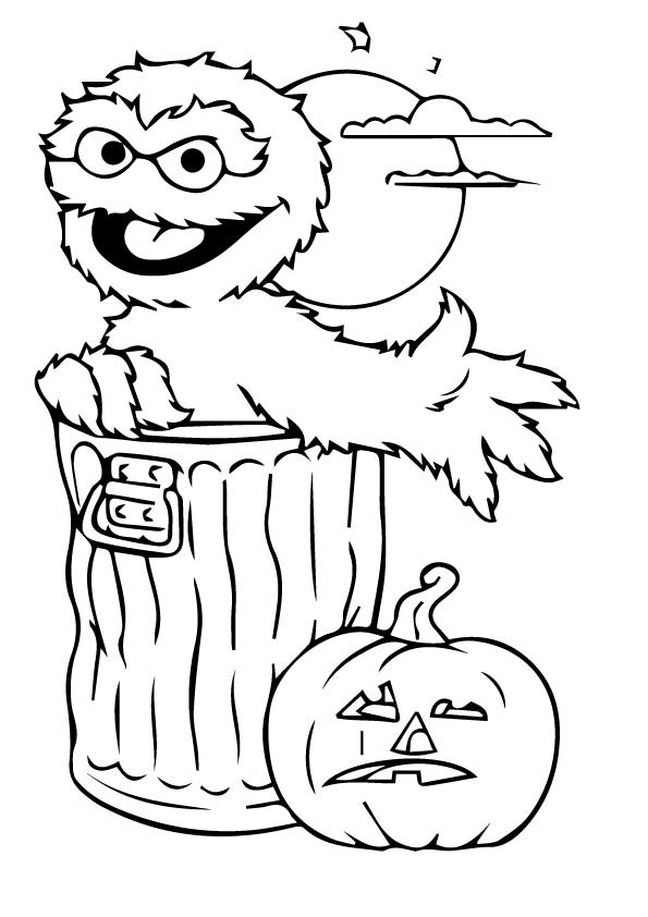 Sesame Street 3 coloring pages