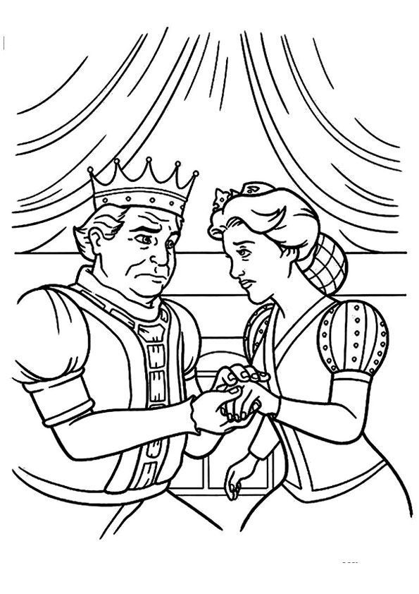 Parentune Free Printable The King And Queen Coloring Picture Assignment Sheets Pictures For Child