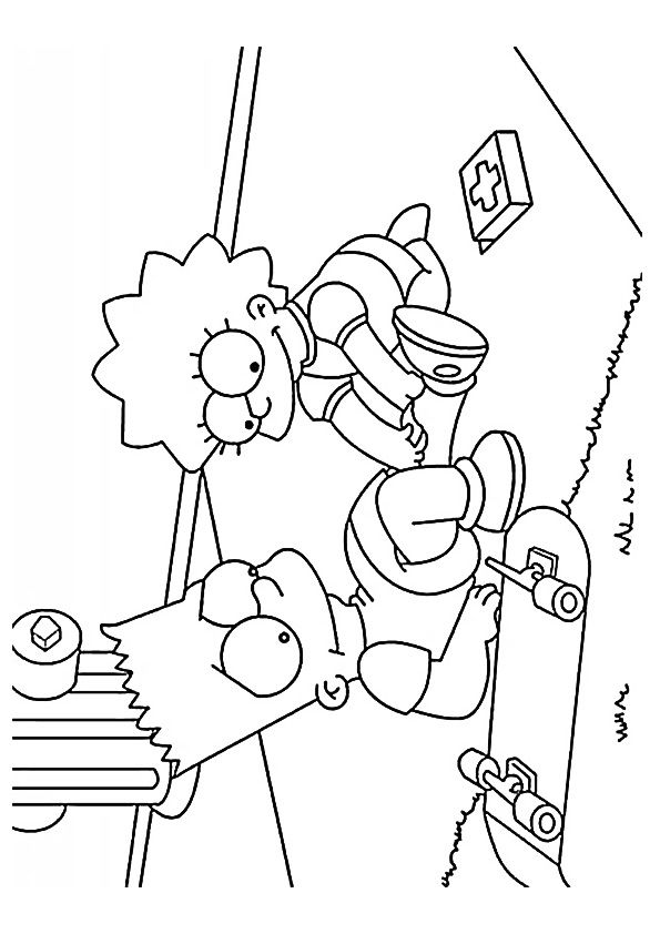 Lisa Nurse coloring pages