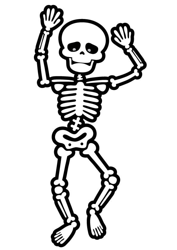 - Parentune - Free Printable Skeleton Coloring Pages, Skeleton Coloring  Pictures For Preschoolers, Kids