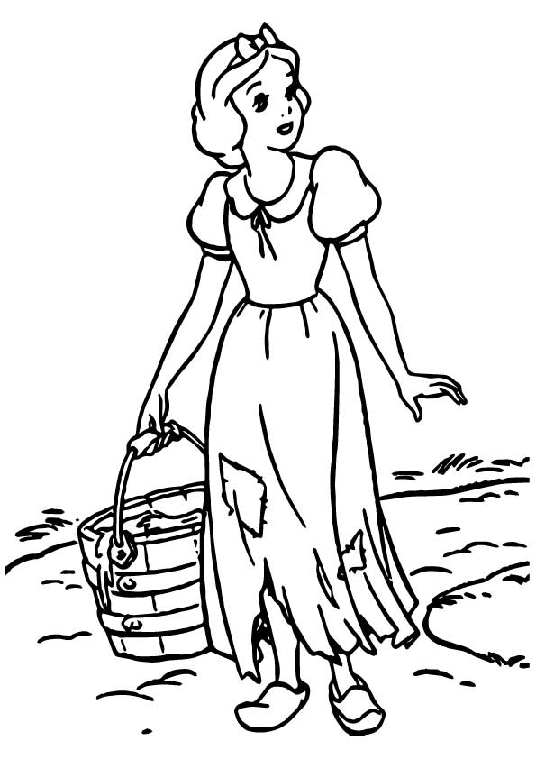 The Tough Work coloring pages