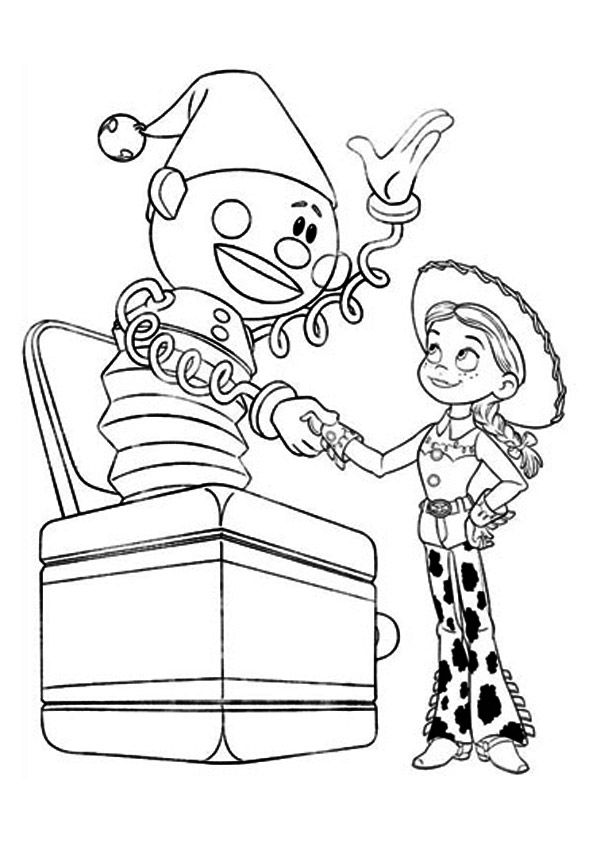 Jessie & Jack coloring pages