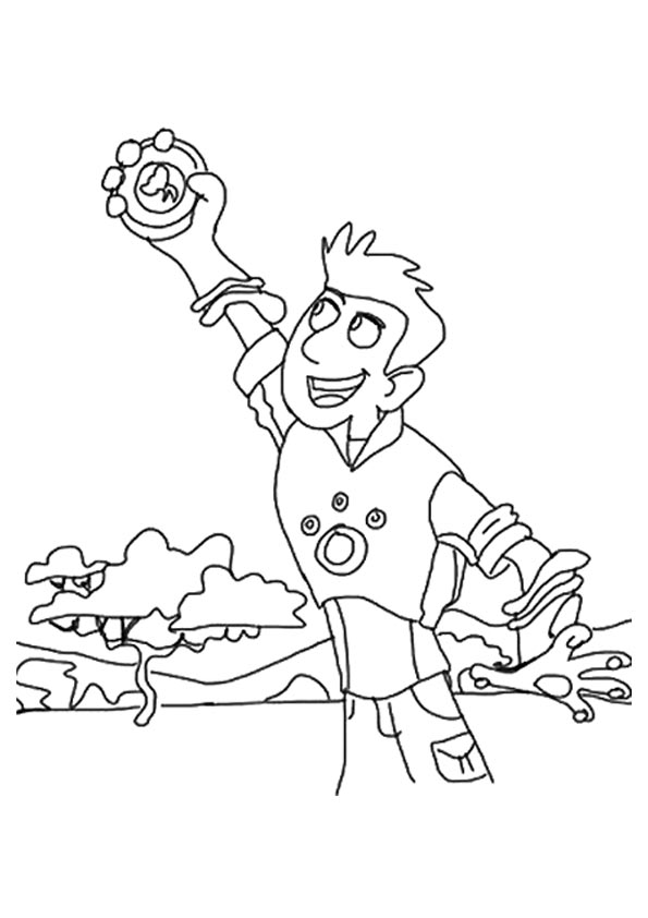 Christ Kratts coloring pages