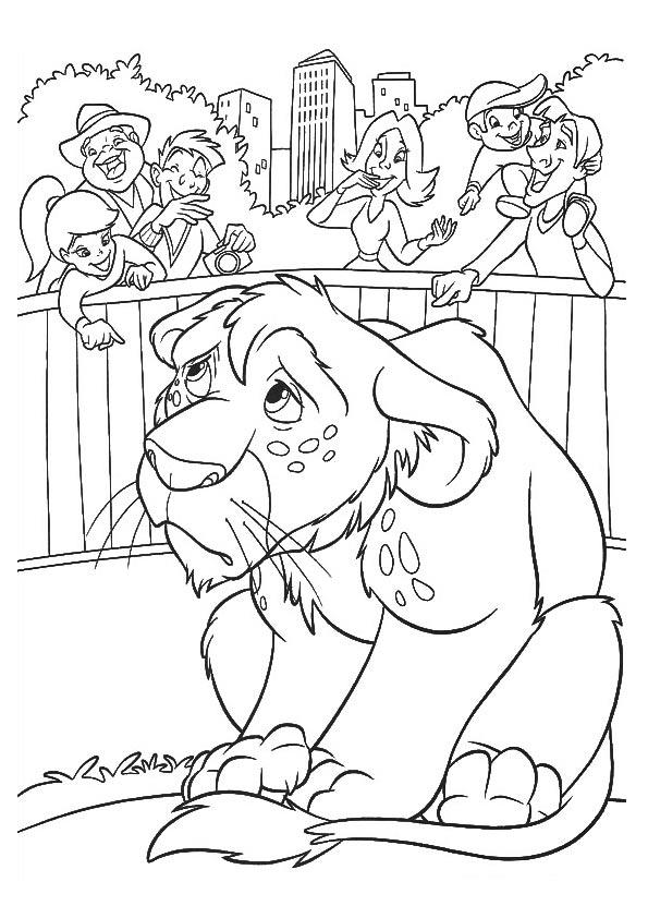 Lion Cub coloring pages