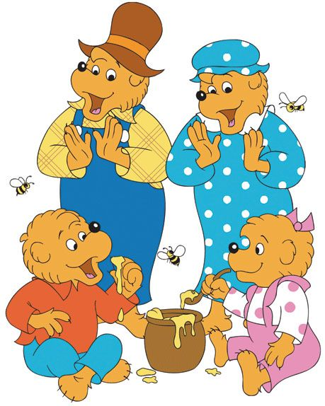 Berenstain-bears coloring pages
