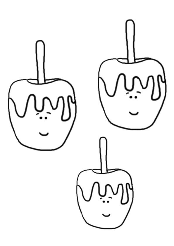 Apple Treats coloring pages