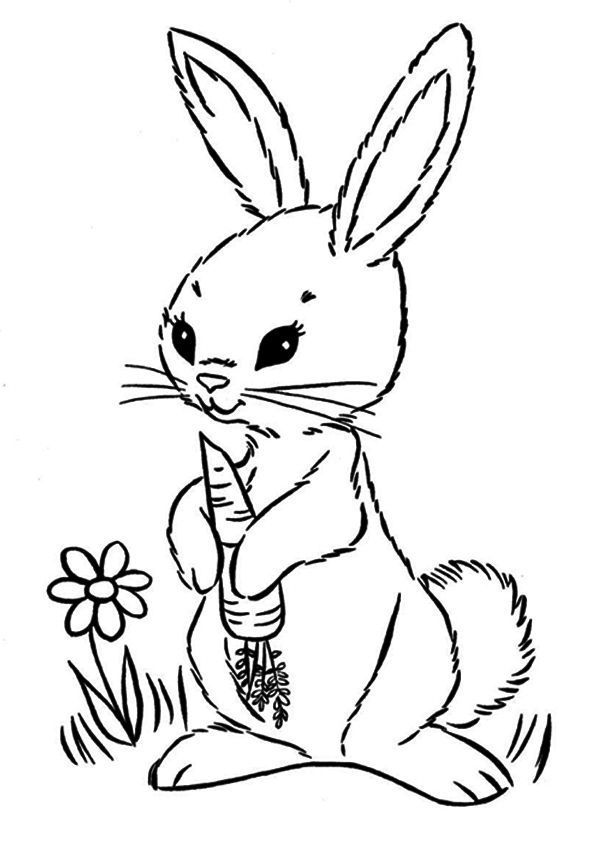 Carrot with leaves vegetables coloring pages for kids, printable ... | 842x595