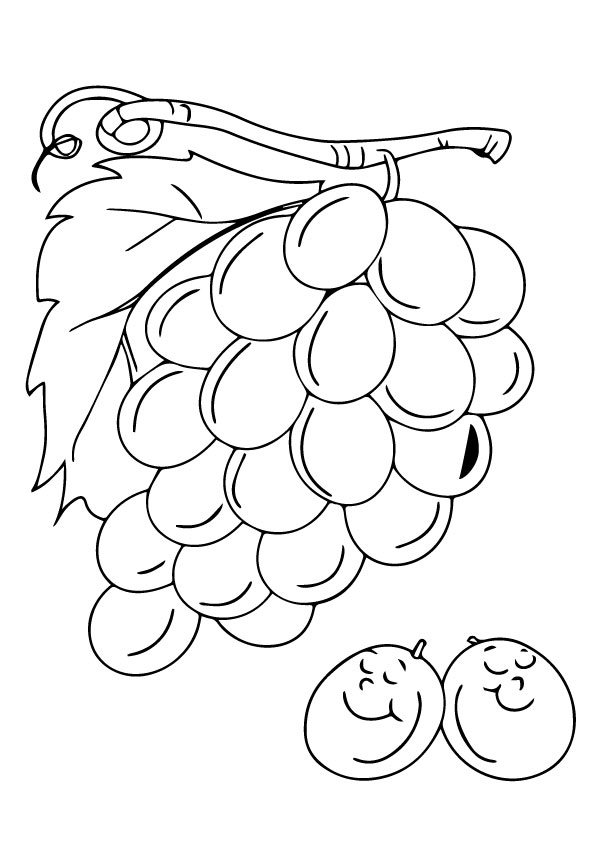 Parentune - ➤Free Fruits and Veggies Coloring Pages ...