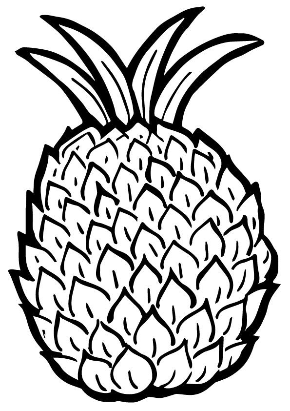 Victoria Pineapple  coloring pages