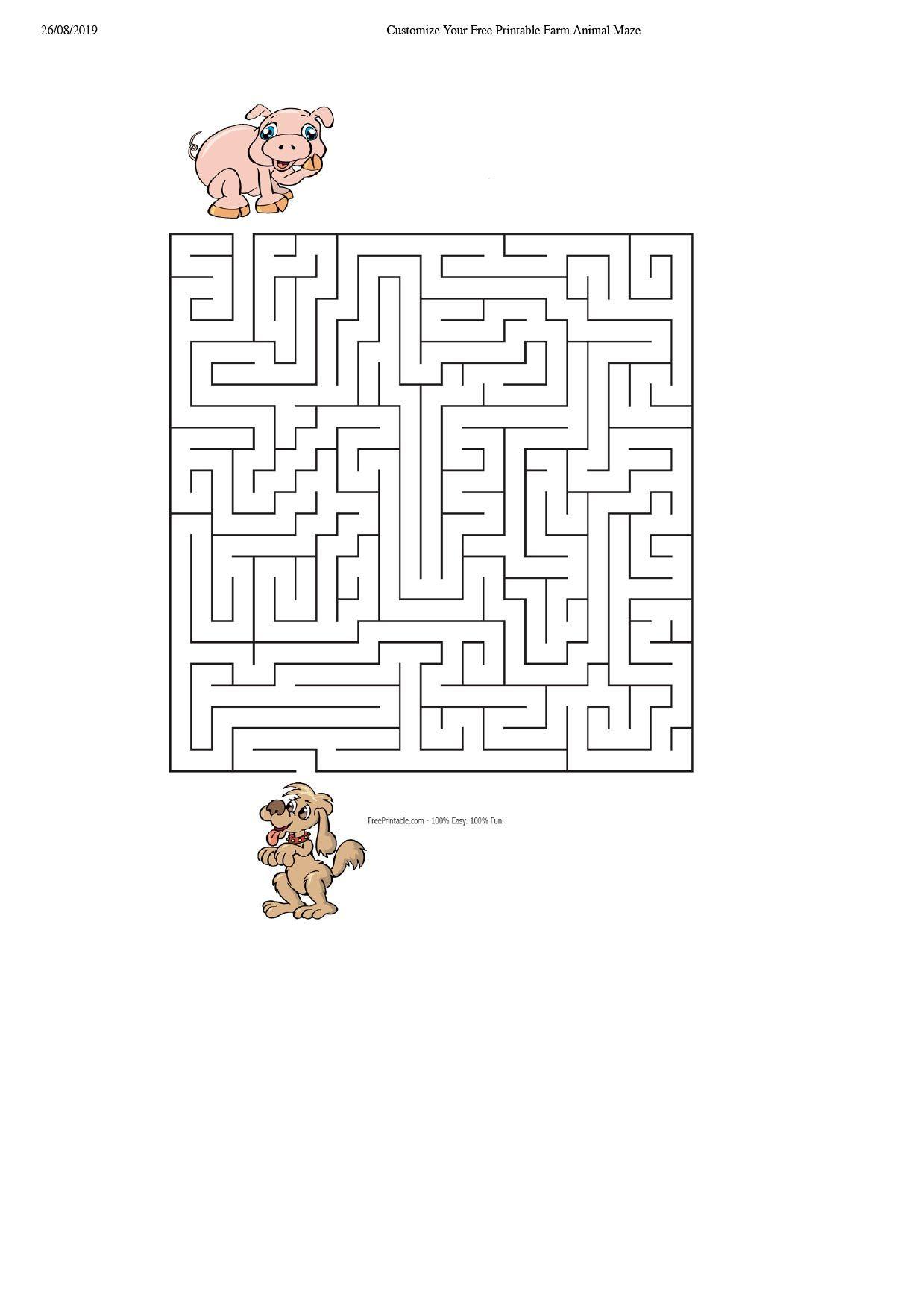 Farm Puzzle 2 coloring pages