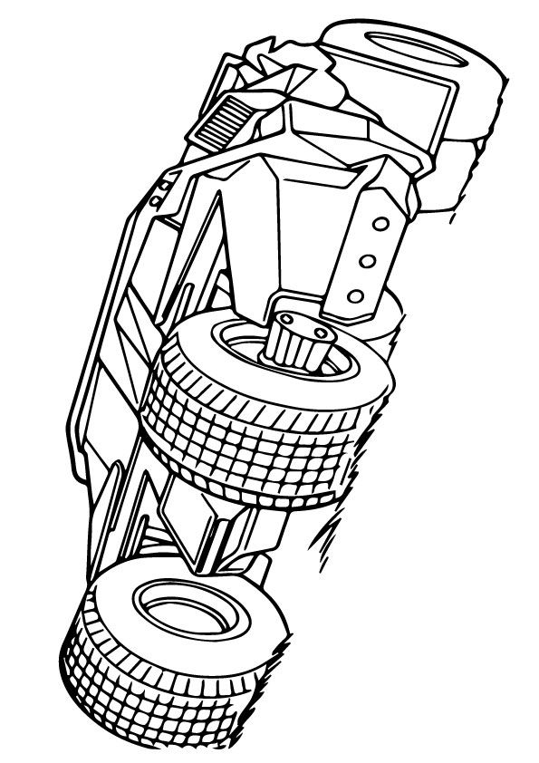 Batman Vehicle coloring pages