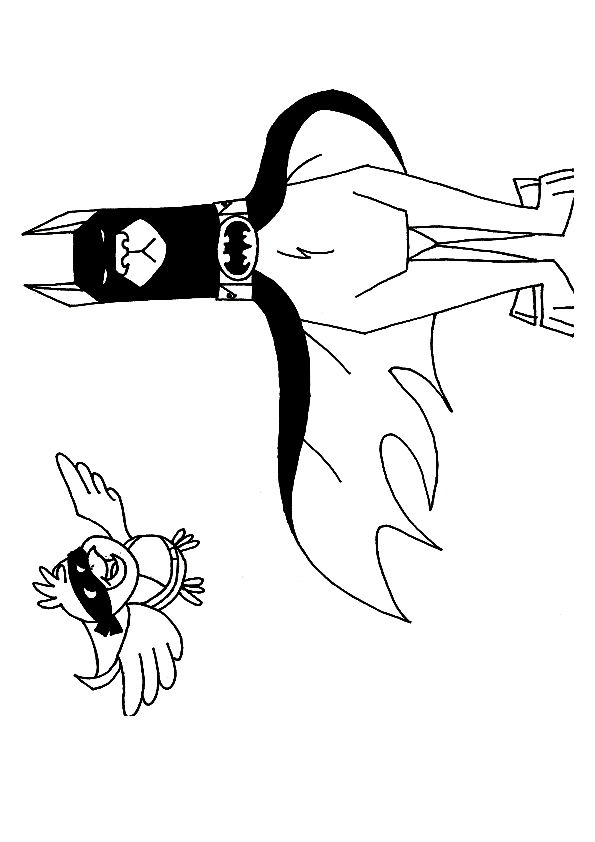 Bat Hound  coloring pages